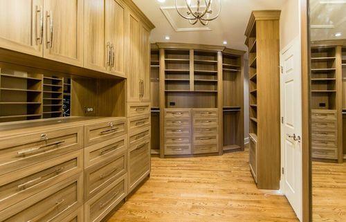 Buckhead (Atlanta, GA) –Traditional style walk-in closet.