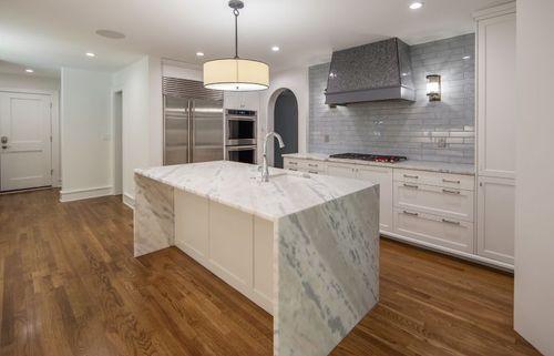 Kitchen remodel granite island