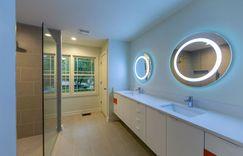 Master bathroom modern remodel
