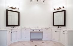 Master Bathroom His and Hers sinks