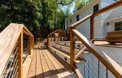 """Back deck renovation made with """"Epi"""""""