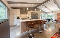 Kitchen remodel large island