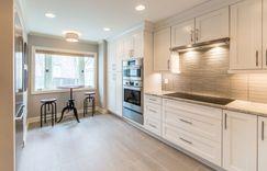 Kitchen remodel subway tile